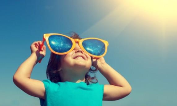 Enfant lunettes solaires